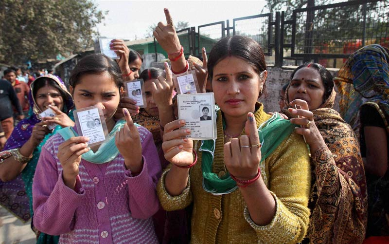 13 pc votes cast till 10 AM in phase VI of UP polls